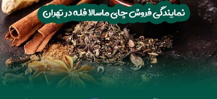 نمایندگی فروش چای ماسالا فله