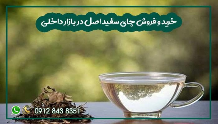 خرید و فروش چای سفید اصل در بازار داخلی-min